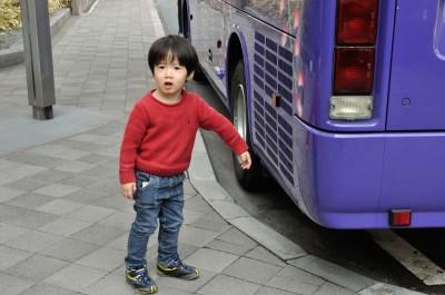 バスが気になってしょうがない