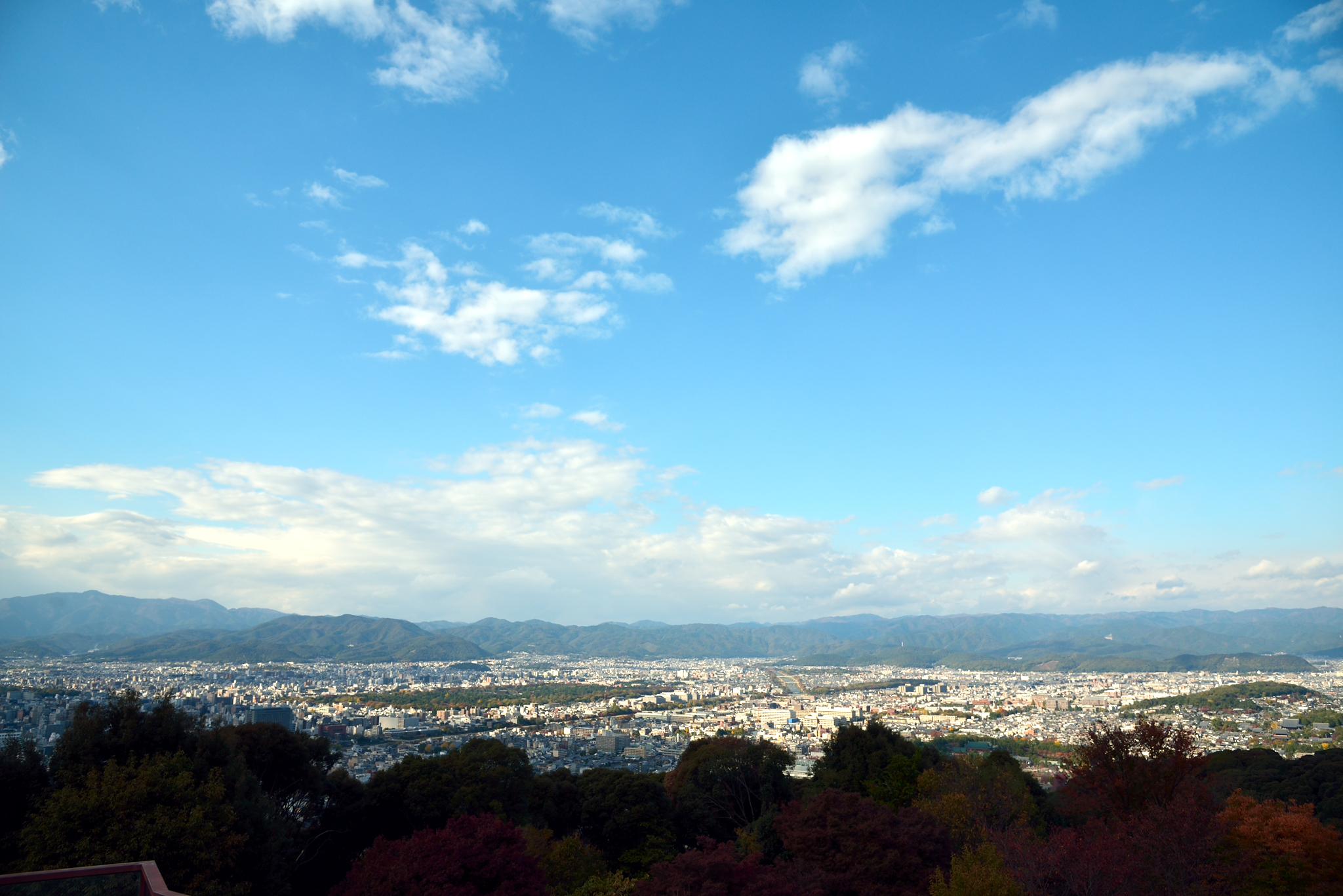 青龍殿からの眺め